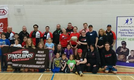 Big Brothers and Big Sisters team up with Cold Lake Rugby