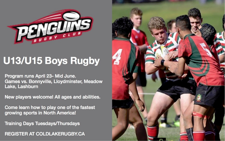 Boys Youth Rugby – Register NOW